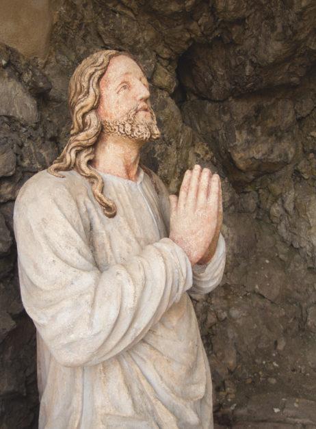 Old Jesus Christ Statue