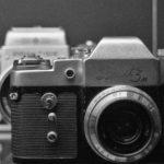 Old SLR Camera Zenit 3M