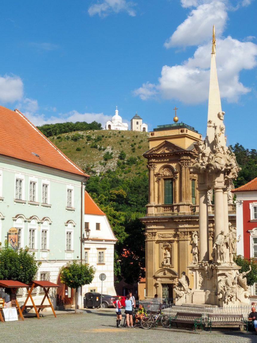 Old Square In Moravia