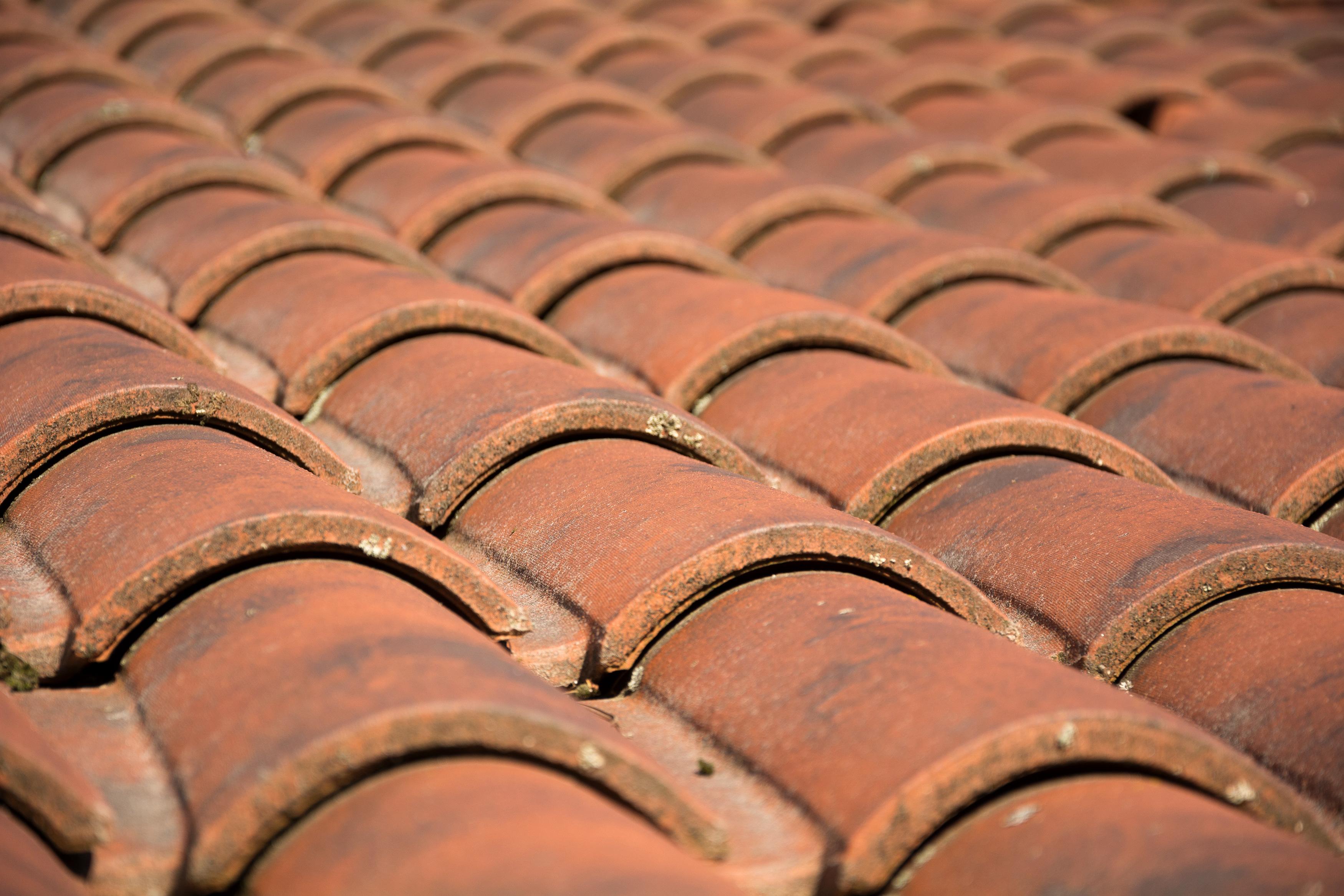 roof tiles detail