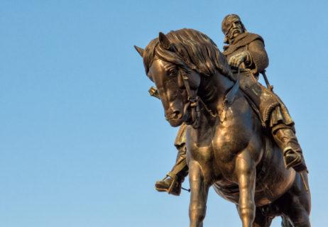 Equestrian Statue Of Jan Žižka In Prague