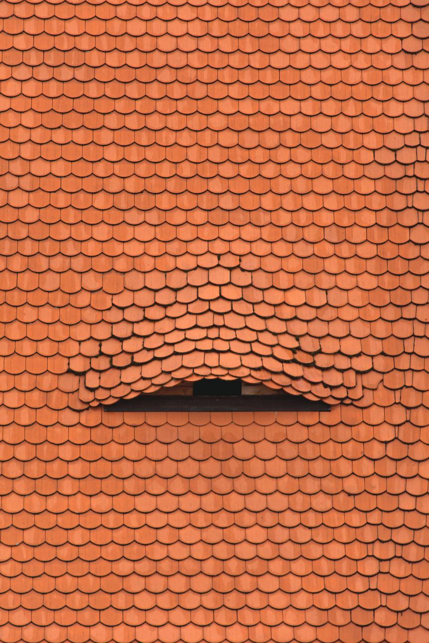 hidden roof window
