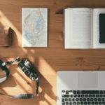 travel office desk