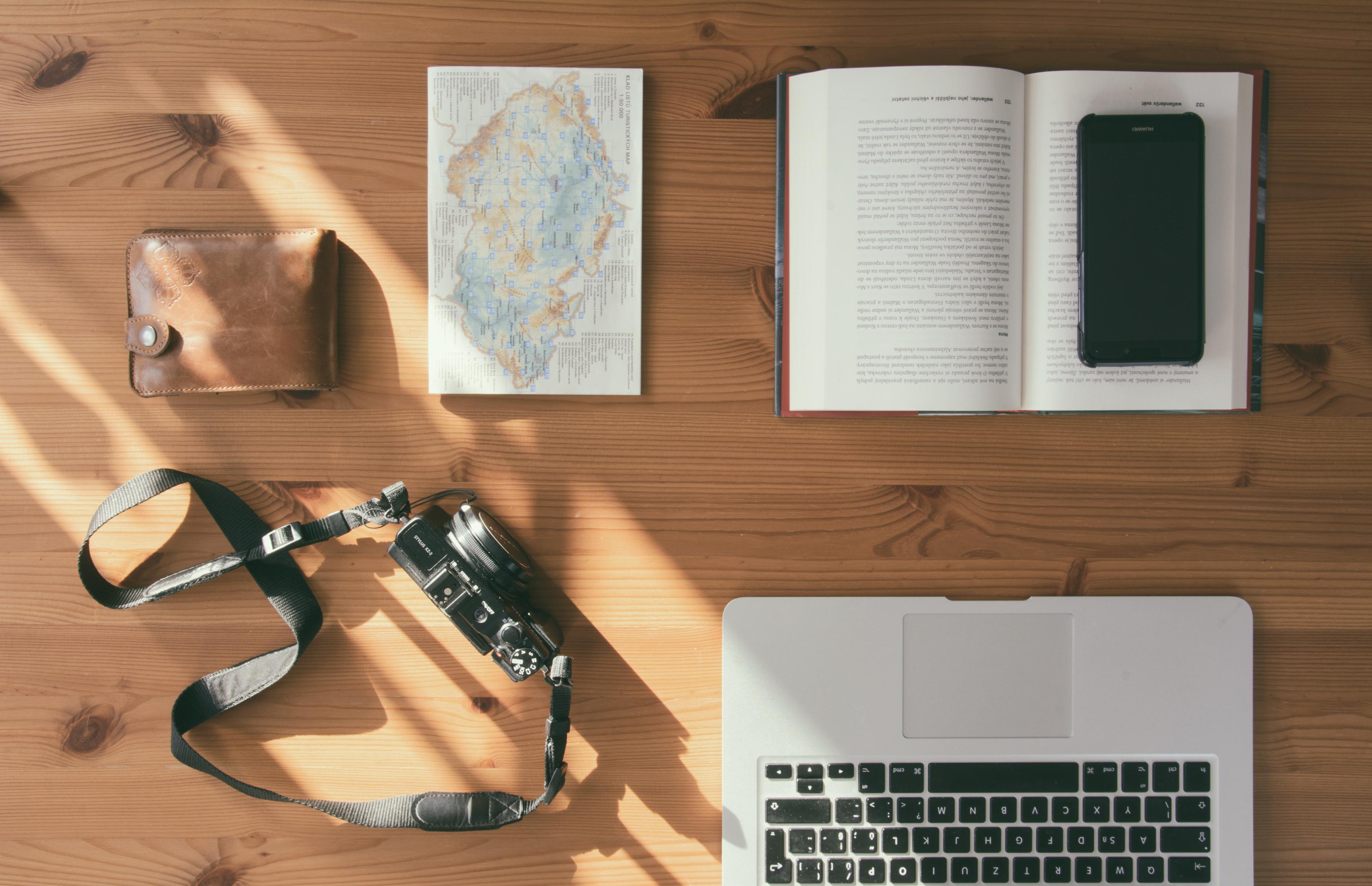 Free Image: Traveller Office Desk