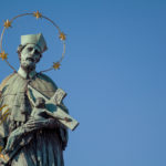 The Statue Of The Saint Person