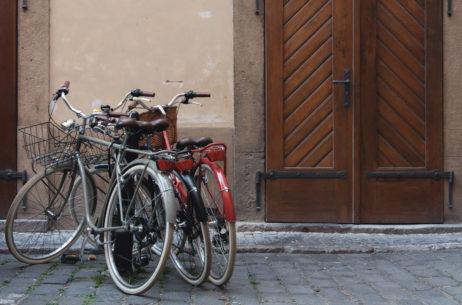 Classic city bikes