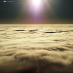 Sun above the clouds
