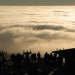 Mountain bar above the clouds