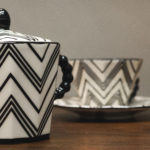 Cubist tea set