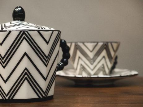 Cubist tea set