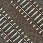 train tracks top view
