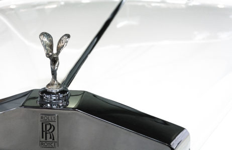 Rolls Royce Car Close Up