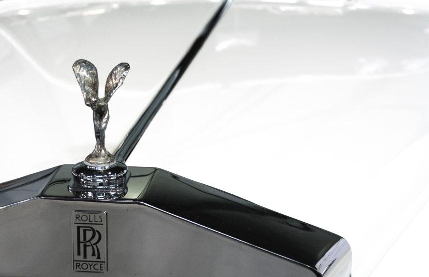 Rolls Royce Close Up