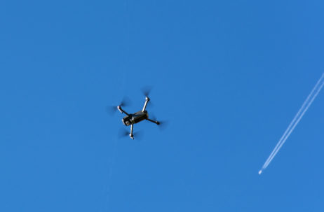 Drone Quadcopter and Aircraft