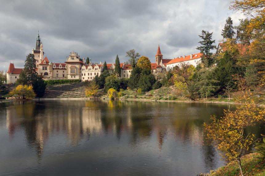 Průhonice castle