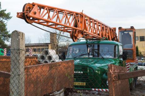 Mobile crane – Tatra 148