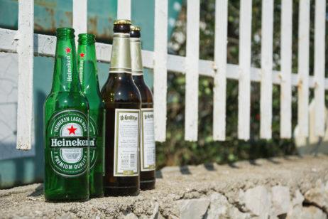 Beer Bottles on the Street