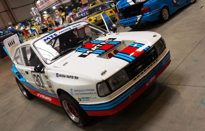 old rally car