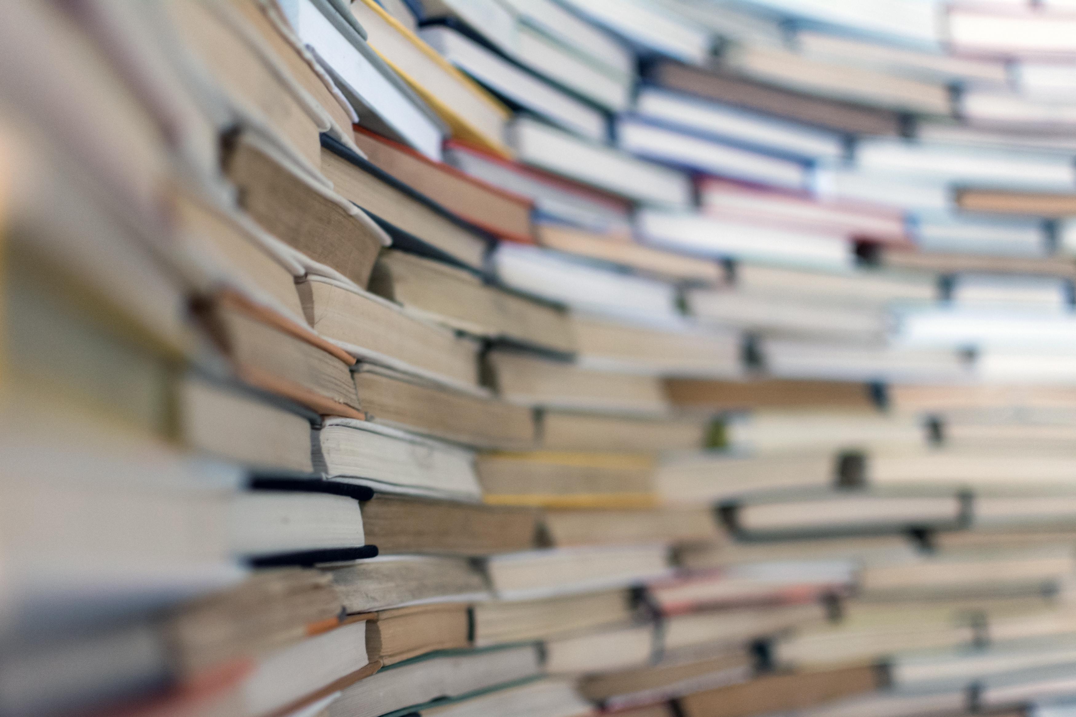 Many Old Books Free Image On Libreshot