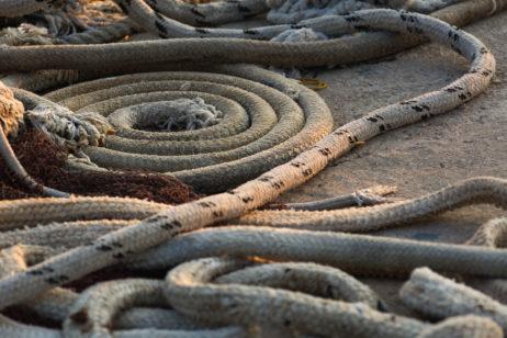 Ropes on Fishing Ship
