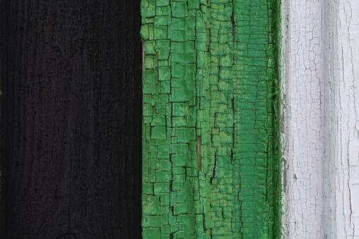 Cracked Paint on Wood