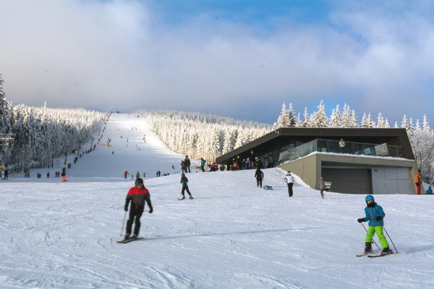 Skiing People Free Image On Libreshot