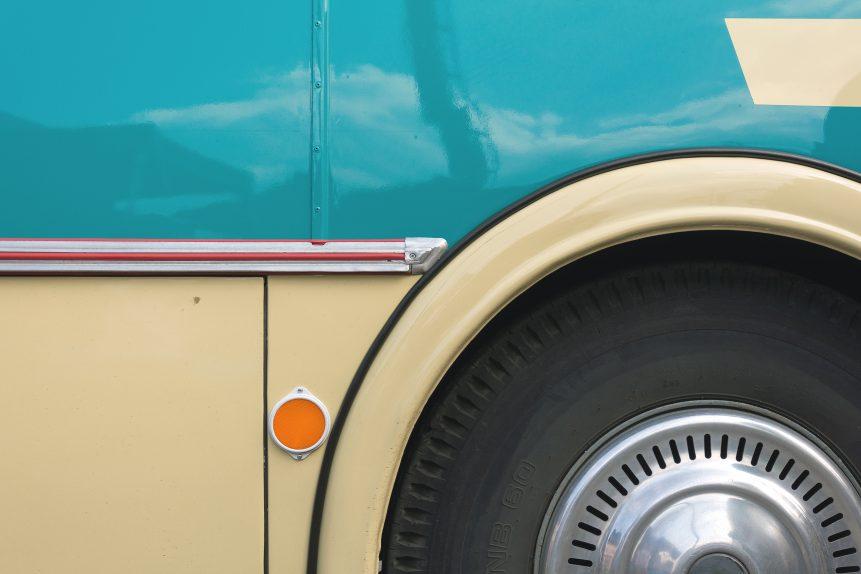FREE IMAGE: Vintage Bus Close-Up - Libreshot Public Domain Photos
