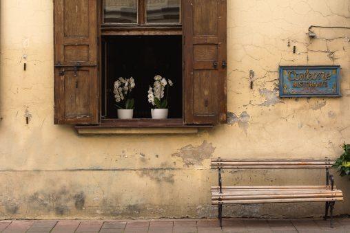 Italian street detail