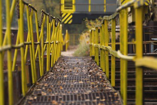 Diminishing perspective – footbridge