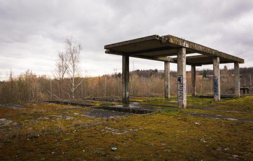 Abandoned Concrete Building