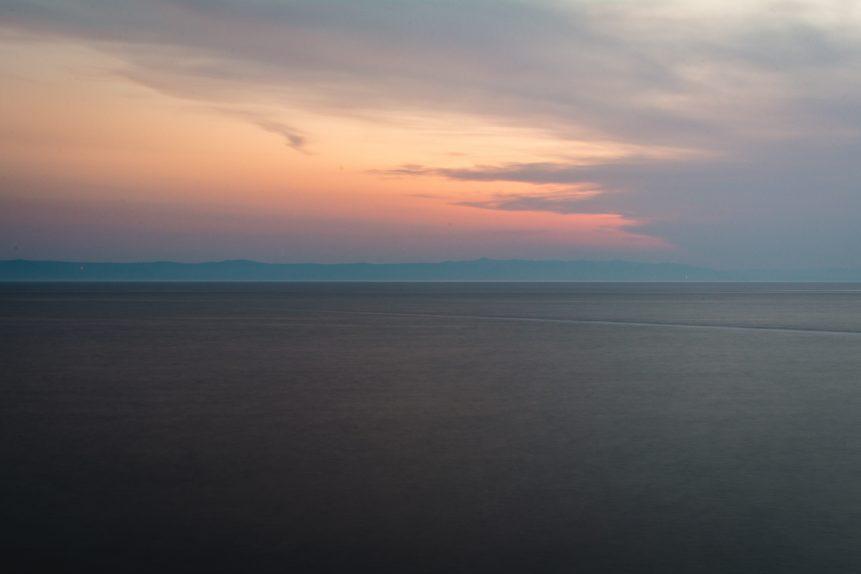 Minimal Sea Landscape